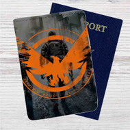 Tom Clancy's The Division Custom Leather Passport Wallet Case Cover
