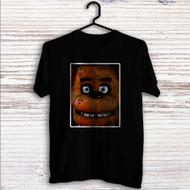 Freddy Fazbear Face Custom T Shirt Tank Top Men and Woman