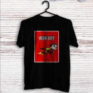 Iron Boy Iron Man Astroboy Custom T Shirt Tank Top Men and Woman