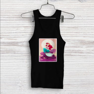 Ariel Mermaid After Eat Custom Men Woman Tank Top T Shirt Shirt
