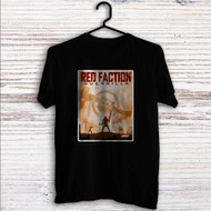 Red Faction Guerrilla Custom T Shirt Tank Top Men and Woman