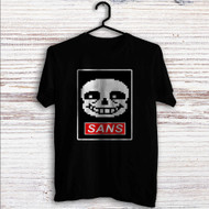 Sans Undertale Face Custom T Shirt Tank Top Men and Woman