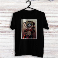Sexy Harley Quinn Deadpool Custom T Shirt Tank Top Men and Woman