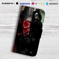 Fallout New Vegas Custom Leather Wallet iPhone 4/4S 5S/C 6/6S Plus 7| Samsung Galaxy S4 S5 S6 S7 Note 3 4 5| LG G2 G3 G4| Motorola Moto X X2 Nexus 6| Sony Z3 Z4 Mini| HTC ONE X M7 M8 M9 Case