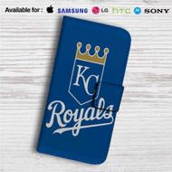 Kansas City Royals Custom Leather Wallet iPhone 4/4S 5S/C 6/6S Plus 7| Samsung Galaxy S4 S5 S6 S7 Note 3 4 5| LG G2 G3 G4| Motorola Moto X X2 Nexus 6| Sony Z3 Z4 Mini| HTC ONE X M7 M8 M9 Case