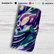 Mega Kyorge Pokemon Custom Leather Wallet iPhone 4/4S 5S/C 6/6S Plus 7| Samsung Galaxy S4 S5 S6 S7 Note 3 4 5| LG G2 G3 G4| Motorola Moto X X2 Nexus 6| Sony Z3 Z4 Mini| HTC ONE X M7 M8 M9 Case