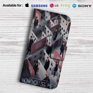 Now You See Me 2 Movie Custom Leather Wallet iPhone 4/4S 5S/C 6/6S Plus 7| Samsung Galaxy S4 S5 S6 S7 Note 3 4 5| LG G2 G3 G4| Motorola Moto X X2 Nexus 6| Sony Z3 Z4 Mini| HTC ONE X M7 M8 M9 Case