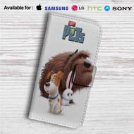 The Secret Life of Pets Movie Custom Leather Wallet iPhone 4/4S 5S/C 6/6S Plus 7| Samsung Galaxy S4 S5 S6 S7 Note 3 4 5| LG G2 G3 G4| Motorola Moto X X2 Nexus 6| Sony Z3 Z4 Mini| HTC ONE X M7 M8 M9 Case
