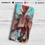 The Sirens of Borderlands Custom Leather Wallet iPhone 4/4S 5S/C 6/6S Plus 7| Samsung Galaxy S4 S5 S6 S7 Note 3 4 5| LG G2 G3 G4| Motorola Moto X X2 Nexus 6| Sony Z3 Z4 Mini| HTC ONE X M7 M8 M9 Case
