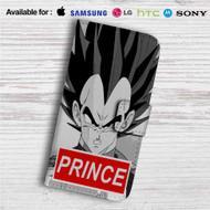 Vegeta Prince Super Saiyan Custom Leather Wallet iPhone 4/4S 5S/C 6/6S Plus 7| Samsung Galaxy S4 S5 S6 S7 Note 3 4 5| LG G2 G3 G4| Motorola Moto X X2 Nexus 6| Sony Z3 Z4 Mini| HTC ONE X M7 M8 M9 Case