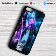 Harley Quinn Suicide Squad iPhone 4/4S 5 S/C/SE 6/6S Plus 7| Samsung Galaxy S4 S5 S6 S7 NOTE 3 4 5| LG G2 G3 G4| MOTOROLA MOTO X X2 NEXUS 6| SONY Z3 Z4 MINI| HTC ONE X M7 M8 M9 M8 MINI CASE