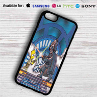 Homer as Darth Vader vs Bart iPhone 4/4S 5 S/C/SE 6/6S Plus 7| Samsung Galaxy S4 S5 S6 S7 NOTE 3 4 5| LG G2 G3 G4| MOTOROLA MOTO X X2 NEXUS 6| SONY Z3 Z4 MINI| HTC ONE X M7 M8 M9 M8 MINI CASE