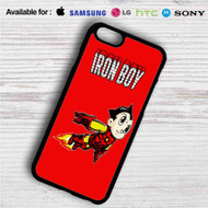 Iron Boy Iron Man Astroboy iPhone 4/4S 5 S/C/SE 6/6S Plus 7| Samsung Galaxy S4 S5 S6 S7 NOTE 3 4 5| LG G2 G3 G4| MOTOROLA MOTO X X2 NEXUS 6| SONY Z3 Z4 MINI| HTC ONE X M7 M8 M9 M8 MINI CASE