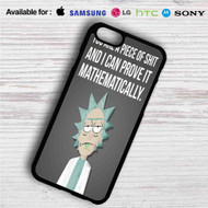 Rick Quotes Rick and Morty iPhone 4/4S 5 S/C/SE 6/6S Plus 7| Samsung Galaxy S4 S5 S6 S7 NOTE 3 4 5| LG G2 G3 G4| MOTOROLA MOTO X X2 NEXUS 6| SONY Z3 Z4 MINI| HTC ONE X M7 M8 M9 M8 MINI CASE