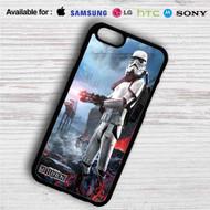 Star Wars Battlefront iPhone 4/4S 5 S/C/SE 6/6S Plus 7| Samsung Galaxy S4 S5 S6 S7 NOTE 3 4 5| LG G2 G3 G4| MOTOROLA MOTO X X2 NEXUS 6| SONY Z3 Z4 MINI| HTC ONE X M7 M8 M9 M8 MINI CASE