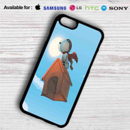 The Peanuts Snoopy Flying iPhone 4/4S 5 S/C/SE 6/6S Plus 7| Samsung Galaxy S4 S5 S6 S7 NOTE 3 4 5| LG G2 G3 G4| MOTOROLA MOTO X X2 NEXUS 6| SONY Z3 Z4 MINI| HTC ONE X M7 M8 M9 M8 MINI CASE