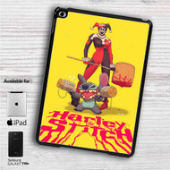 "Harley Quinn and Stitch iPad 2 3 4 iPad Mini 1 2 3 4 iPad Air 1 2 | Samsung Galaxy Tab 10.1"" Tab 2 7"" Tab 3 7"" Tab 3 8"" Tab 4 7"" Case"