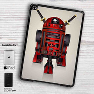 "R2D2 Deadpool iPad 2 3 4 iPad Mini 1 2 3 4 iPad Air 1 2 | Samsung Galaxy Tab 10.1"" Tab 2 7"" Tab 3 7"" Tab 3 8"" Tab 4 7"" Case"
