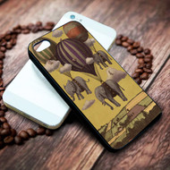 Flight baloon of the Elephants on your case iphone 4 4s 5 5s 5c 6 6plus 7 case / cases
