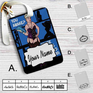 Archer Quotes Custom Leather Luggage Tag
