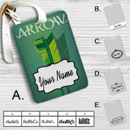 Arrow Custom Leather Luggage Tag