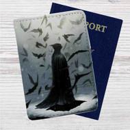 Batman Dark Knight Mr Wayne Custom Leather Passport Wallet Case Cover