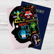 Disney Pixar for Inside Out Custom Leather Passport Wallet Case Cover
