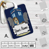 Doctor Whooves My Little Pony Custom Leather Luggage Tag