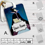 Maleficent and Princess Aurora Disney Custom Leather Luggage Tag