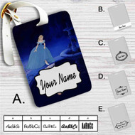 Princess Cinderella Disney Custom Leather Luggage Tag