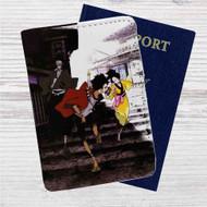 Samurai Champloo Anime Custom Leather Passport Wallet Case Cover