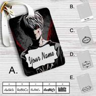 Tokyo Ghoul Kaneki Ken Custom Leather Luggage Tag