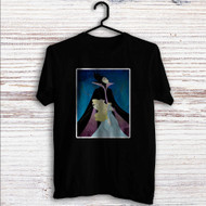 Maleficent and Princess Aurora Disney Custom T Shirt Tank Top Men and Woman