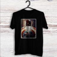 Steve Rogers Captain America Custom T Shirt Tank Top Men and Woman
