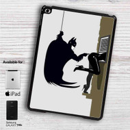 "Batman I'm Not Touching You iPad 2 3 4 iPad Mini 1 2 3 4 iPad Air 1 2 | Samsung Galaxy Tab 10.1"" Tab 2 7"" Tab 3 7"" Tab 3 8"" Tab 4 7"" Case"