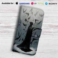 Batman Dark Knight Mr Wayne Custom Leather Wallet iPhone 4/4S 5S/C 6/6S Plus 7| Samsung Galaxy S4 S5 S6 S7 Note 3 4 5| LG G2 G3 G4| Motorola Moto X X2 Nexus 6| Sony Z3 Z4 Mini| HTC ONE X M7 M8 M9 Case