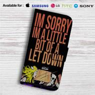 Blink-182 Bored to Death Custom Leather Wallet iPhone 4/4S 5S/C 6/6S Plus 7| Samsung Galaxy S4 S5 S6 S7 Note 3 4 5| LG G2 G3 G4| Motorola Moto X X2 Nexus 6| Sony Z3 Z4 Mini| HTC ONE X M7 M8 M9 Case