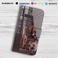 Bokuto and Kuroo Haikyuu Custom Leather Wallet iPhone 4/4S 5S/C 6/6S Plus 7| Samsung Galaxy S4 S5 S6 S7 Note 3 4 5| LG G2 G3 G4| Motorola Moto X X2 Nexus 6| Sony Z3 Z4 Mini| HTC ONE X M7 M8 M9 Case