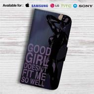 Catwoman Good Girl Custom Leather Wallet iPhone 4/4S 5S/C 6/6S Plus 7| Samsung Galaxy S4 S5 S6 S7 Note 3 4 5| LG G2 G3 G4| Motorola Moto X X2 Nexus 6| Sony Z3 Z4 Mini| HTC ONE X M7 M8 M9 Case