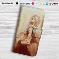 Fairy Tail Natsu Dragneel Custom Leather Wallet iPhone 4/4S 5S/C 6/6S Plus 7| Samsung Galaxy S4 S5 S6 S7 Note 3 4 5| LG G2 G3 G4| Motorola Moto X X2 Nexus 6| Sony Z3 Z4 Mini| HTC ONE X M7 M8 M9 Case