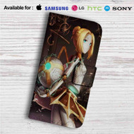 Orianna League of Legends Custom Leather Wallet iPhone 4/4S 5S/C 6/6S Plus 7| Samsung Galaxy S4 S5 S6 S7 Note 3 4 5| LG G2 G3 G4| Motorola Moto X X2 Nexus 6| Sony Z3 Z4 Mini| HTC ONE X M7 M8 M9 Case