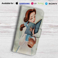 Princess Belle Beauty and The Beast Disney Custom Leather Wallet iPhone 4/4S 5S/C 6/6S Plus 7| Samsung Galaxy S4 S5 S6 S7 Note 3 4 5| LG G2 G3 G4| Motorola Moto X X2 Nexus 6| Sony Z3 Z4 Mini| HTC ONE X M7 M8 M9 Case