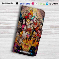 Undertale All Characters Game Custom Leather Wallet iPhone 4/4S 5S/C 6/6S Plus 7| Samsung Galaxy S4 S5 S6 S7 Note 3 4 5| LG G2 G3 G4| Motorola Moto X X2 Nexus 6| Sony Z3 Z4 Mini| HTC ONE X M7 M8 M9 Case