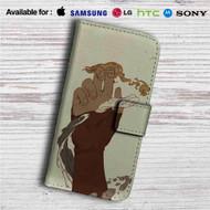 Avatar The Legend of Korra Hand Custom Leather Wallet iPhone 4/4S 5S/C 6/6S Plus 7| Samsung Galaxy S4 S5 S6 S7 Note 3 4 5| LG G2 G3 G4| Motorola Moto X X2 Nexus 6| Sony Z3 Z4 Mini| HTC ONE X M7 M8 M9 Case