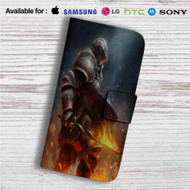 Dark Souls 3 Fire Custom Leather Wallet iPhone 4/4S 5S/C 6/6S Plus 7| Samsung Galaxy S4 S5 S6 S7 Note 3 4 5| LG G2 G3 G4| Motorola Moto X X2 Nexus 6| Sony Z3 Z4 Mini| HTC ONE X M7 M8 M9 Case