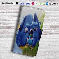 Finding Dory and Baby Dory Family Disney Custom Leather Wallet iPhone 4/4S 5S/C 6/6S Plus 7| Samsung Galaxy S4 S5 S6 S7 Note 3 4 5| LG G2 G3 G4| Motorola Moto X X2 Nexus 6| Sony Z3 Z4 Mini| HTC ONE X M7 M8 M9 Case