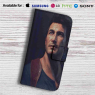 Nathan Drake Uncharted 4 A Thief's End Custom Leather Wallet iPhone 4/4S 5S/C 6/6S Plus 7| Samsung Galaxy S4 S5 S6 S7 Note 3 4 5| LG G2 G3 G4| Motorola Moto X X2 Nexus 6| Sony Z3 Z4 Mini| HTC ONE X M7 M8 M9 Case