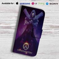 Overwatch Reaper Custom Leather Wallet iPhone 4/4S 5S/C 6/6S Plus 7| Samsung Galaxy S4 S5 S6 S7 Note 3 4 5| LG G2 G3 G4| Motorola Moto X X2 Nexus 6| Sony Z3 Z4 Mini| HTC ONE X M7 M8 M9 Case