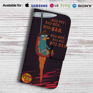 Phineas and Ferb Custom Leather Wallet iPhone 4/4S 5S/C 6/6S Plus 7| Samsung Galaxy S4 S5 S6 S7 Note 3 4 5| LG G2 G3 G4| Motorola Moto X X2 Nexus 6| Sony Z3 Z4 Mini| HTC ONE X M7 M8 M9 Case