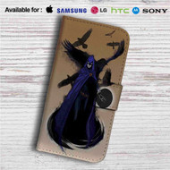 Raven DC Comics Custom Leather Wallet iPhone 4/4S 5S/C 6/6S Plus 7| Samsung Galaxy S4 S5 S6 S7 Note 3 4 5| LG G2 G3 G4| Motorola Moto X X2 Nexus 6| Sony Z3 Z4 Mini| HTC ONE X M7 M8 M9 Case